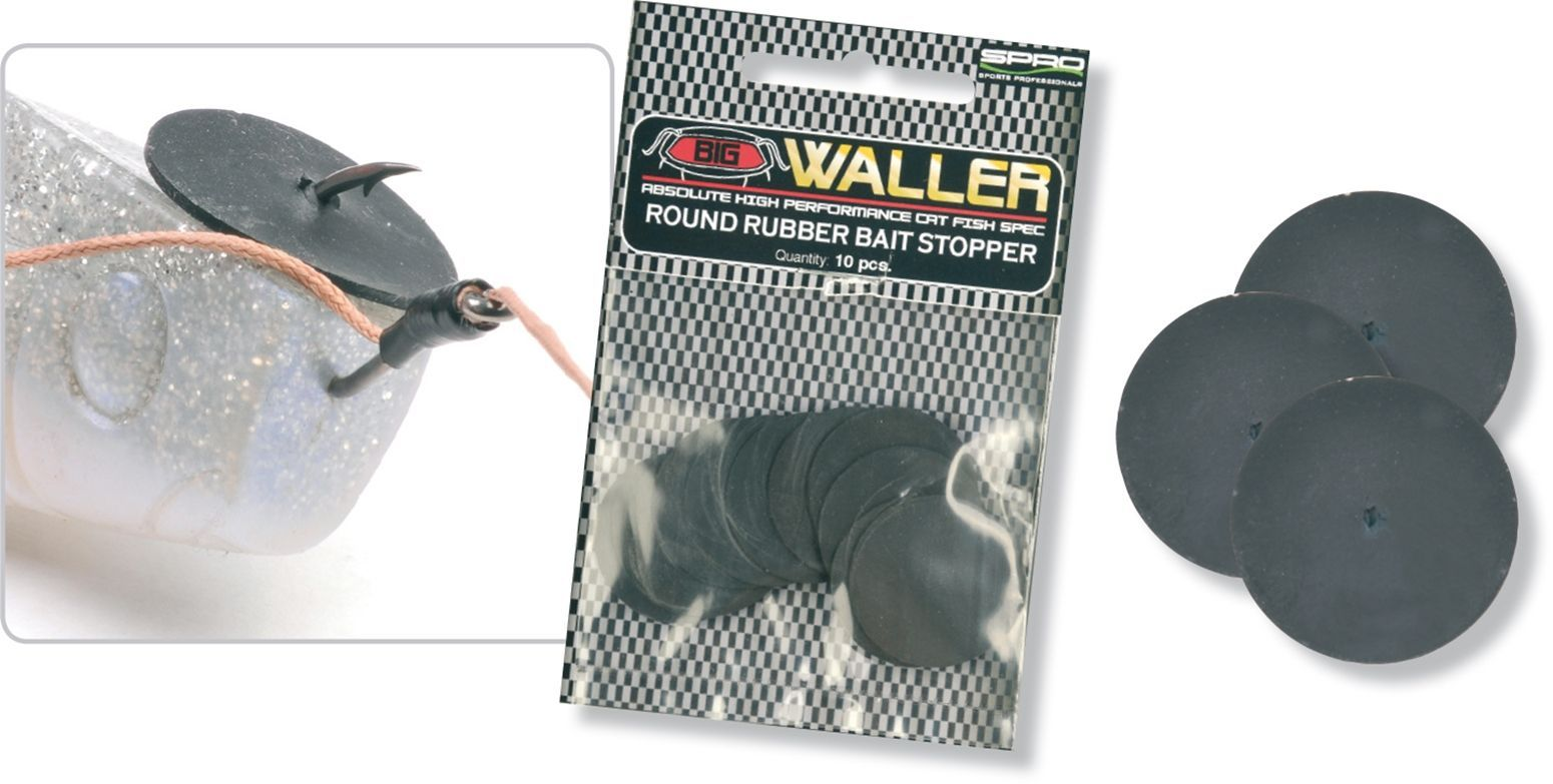 Big Waller Rubber Bait Stoppers 25 mm
