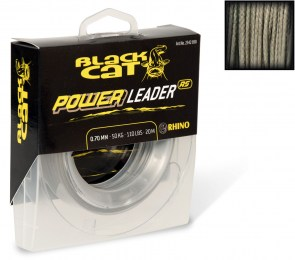 Black Cat 20m Power Leader 1mm/80kg