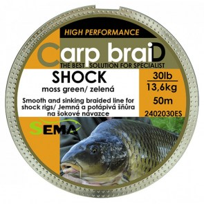 Carp braid Shock 20lb/50m
