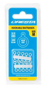 CRESTA Hookable Baitbands 4mm