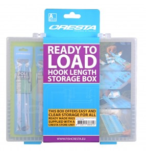 CRESTA Ready To load Hook Length Storage Box