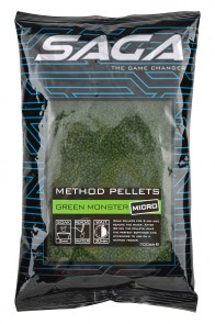 SAGA Method Pellets Green monster micro