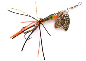 SPRO Larva Mayflay Micro Spinner 5cm Perch