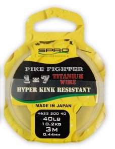 SPRO Pike Fighter titanové lanko